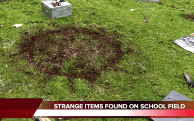 Breaking News – Mysterious Alien Landing